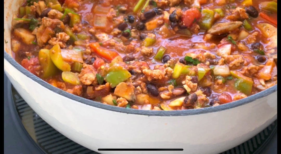 THE ULTIMATE CHUNKY CHILI